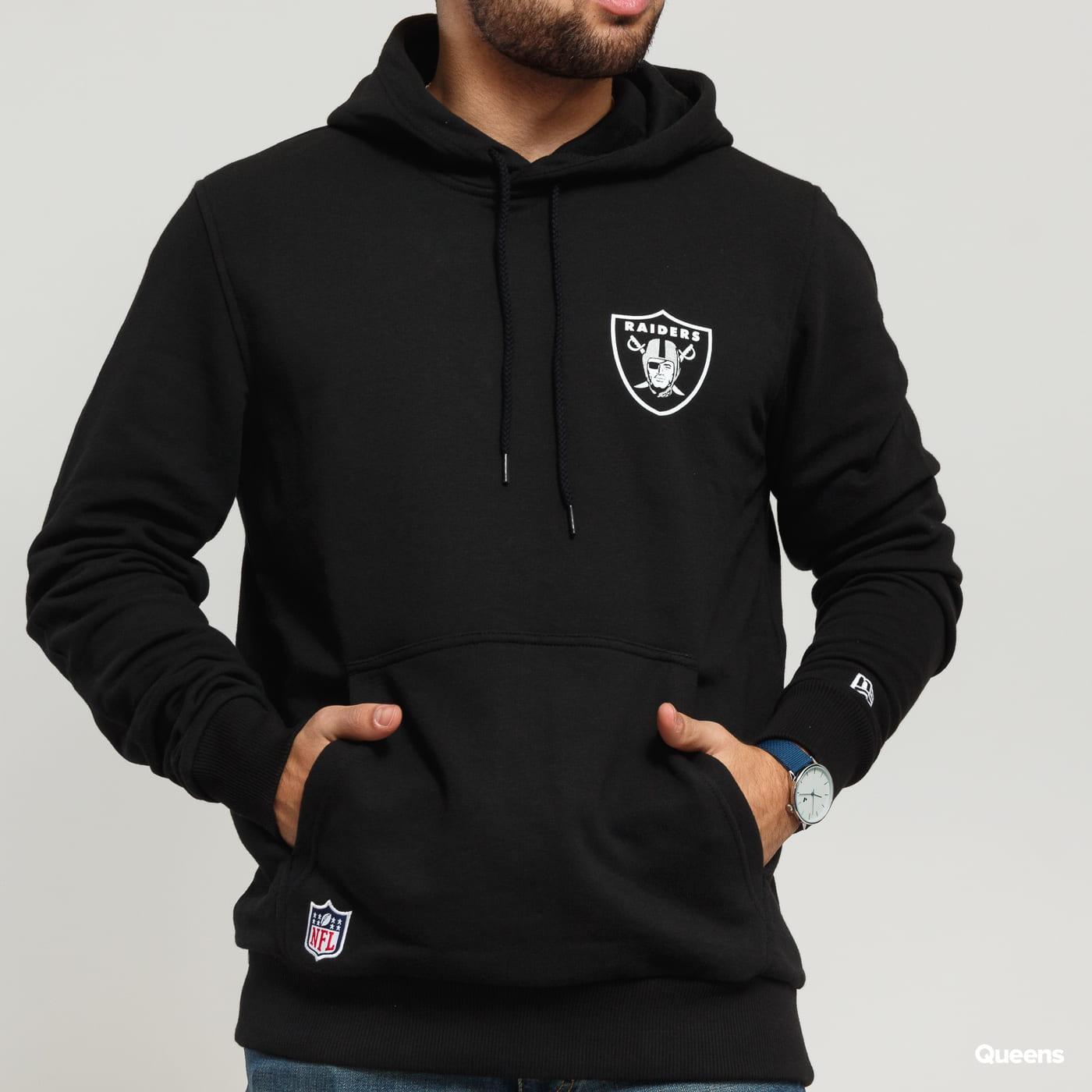 New Era NFL Team Logo Hoody Raiders schwarz