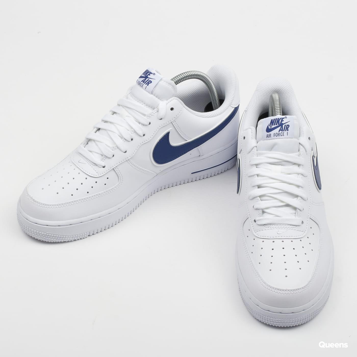 separation shoes 7ec37 ab080 Zoom in Zoom in Zoom in Zoom in Zoom in. Nike Air Force 1  07 3 white   deep  royal