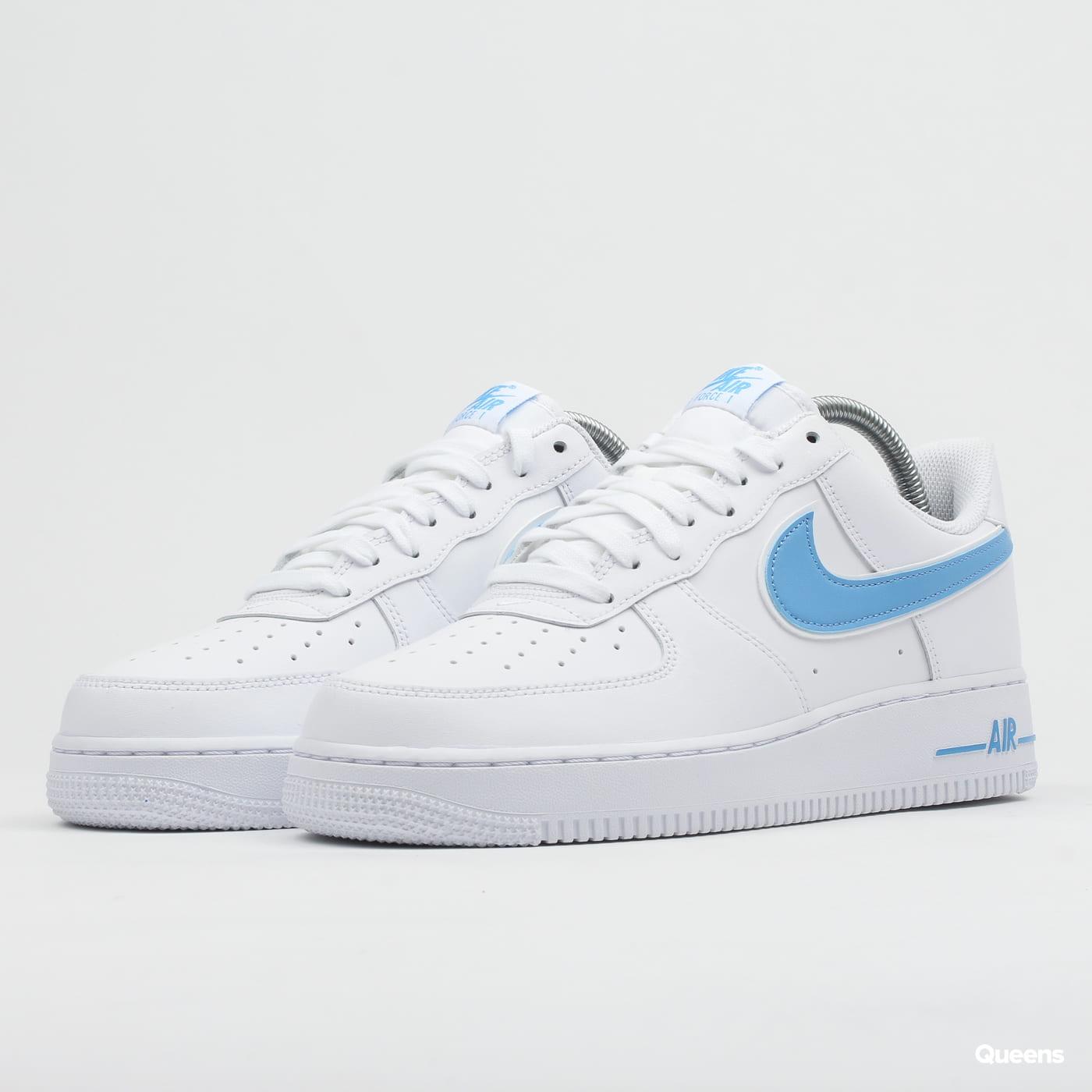 Nike Air Force 1 '07 3 WhiteUniversity Blue AO2423 100