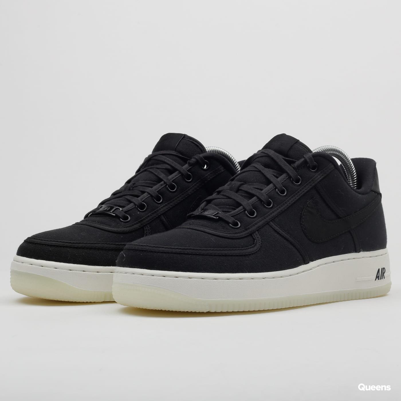 Nike Air Force 1 Low Retro QS Canvas black black summit white