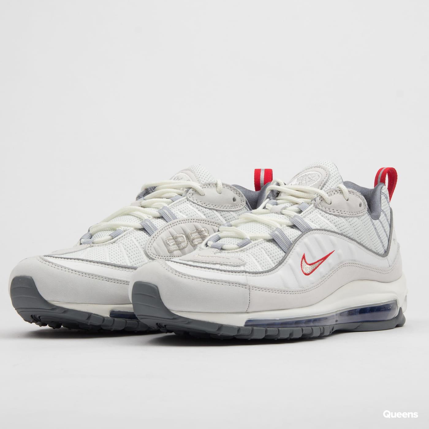 new style 78b7e 95d8c Nike Air Max 98 summit white / metallic silver