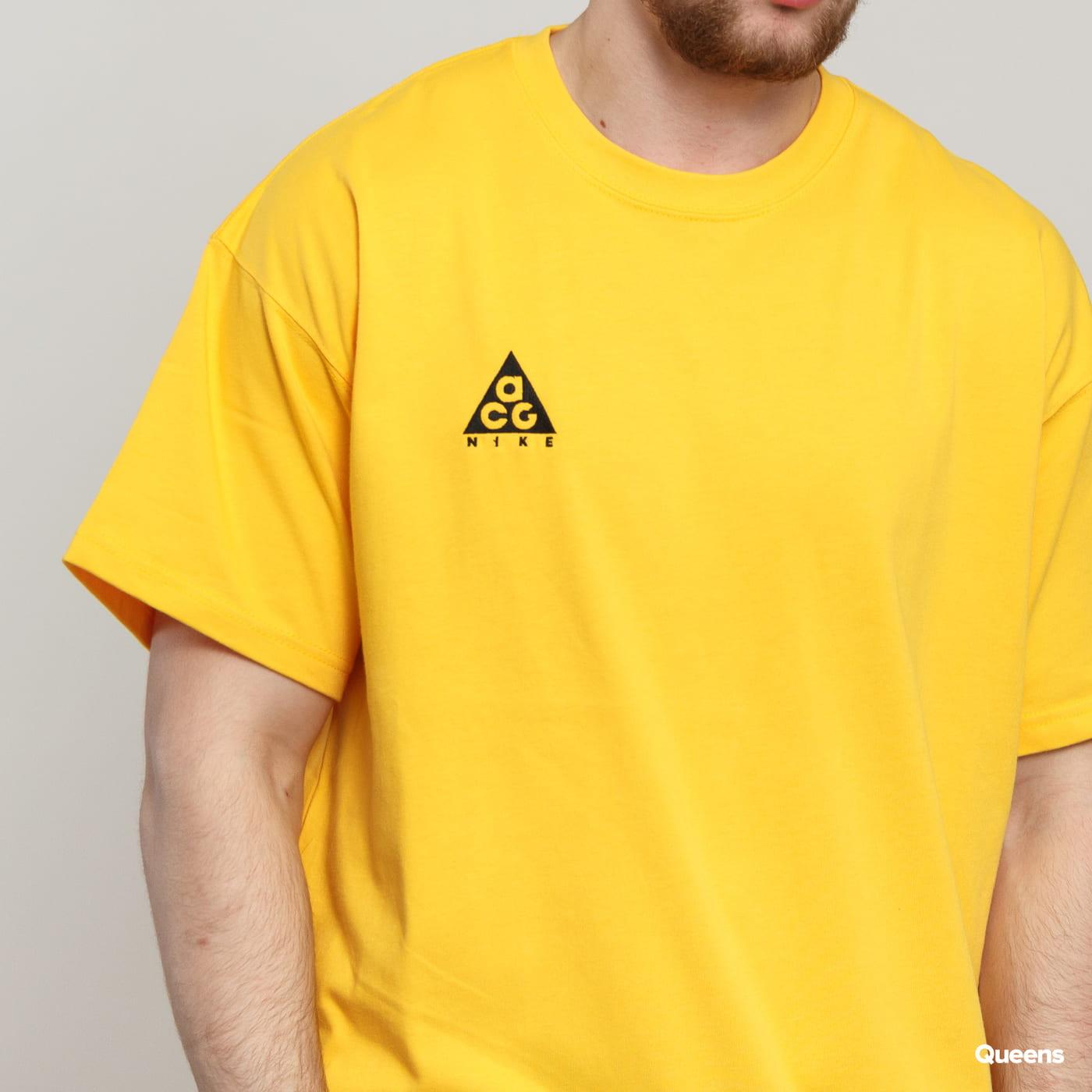Nike M NRG ACG SS Tee Logo žlté