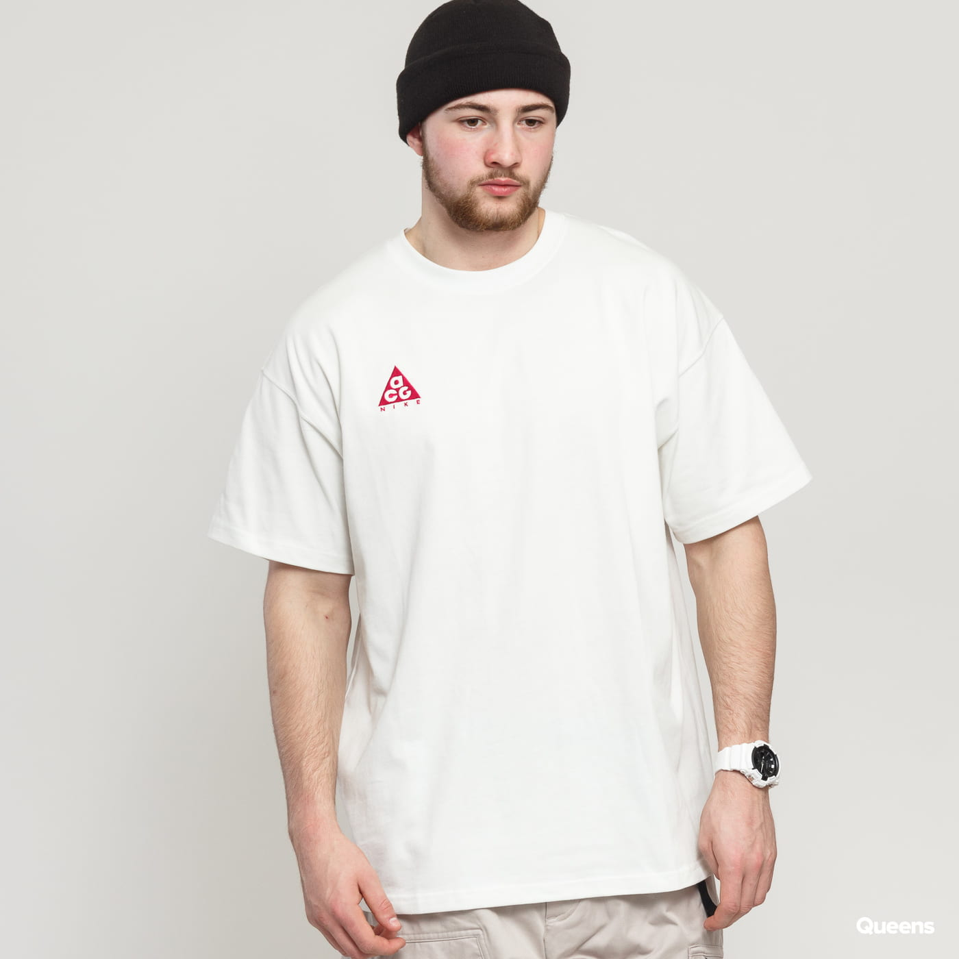 low priced 6f12d 45576 Short Sleeve T-Shirts Nike M NRG ACG SS Tee Logo (BQ7342-121)– Queens 💚