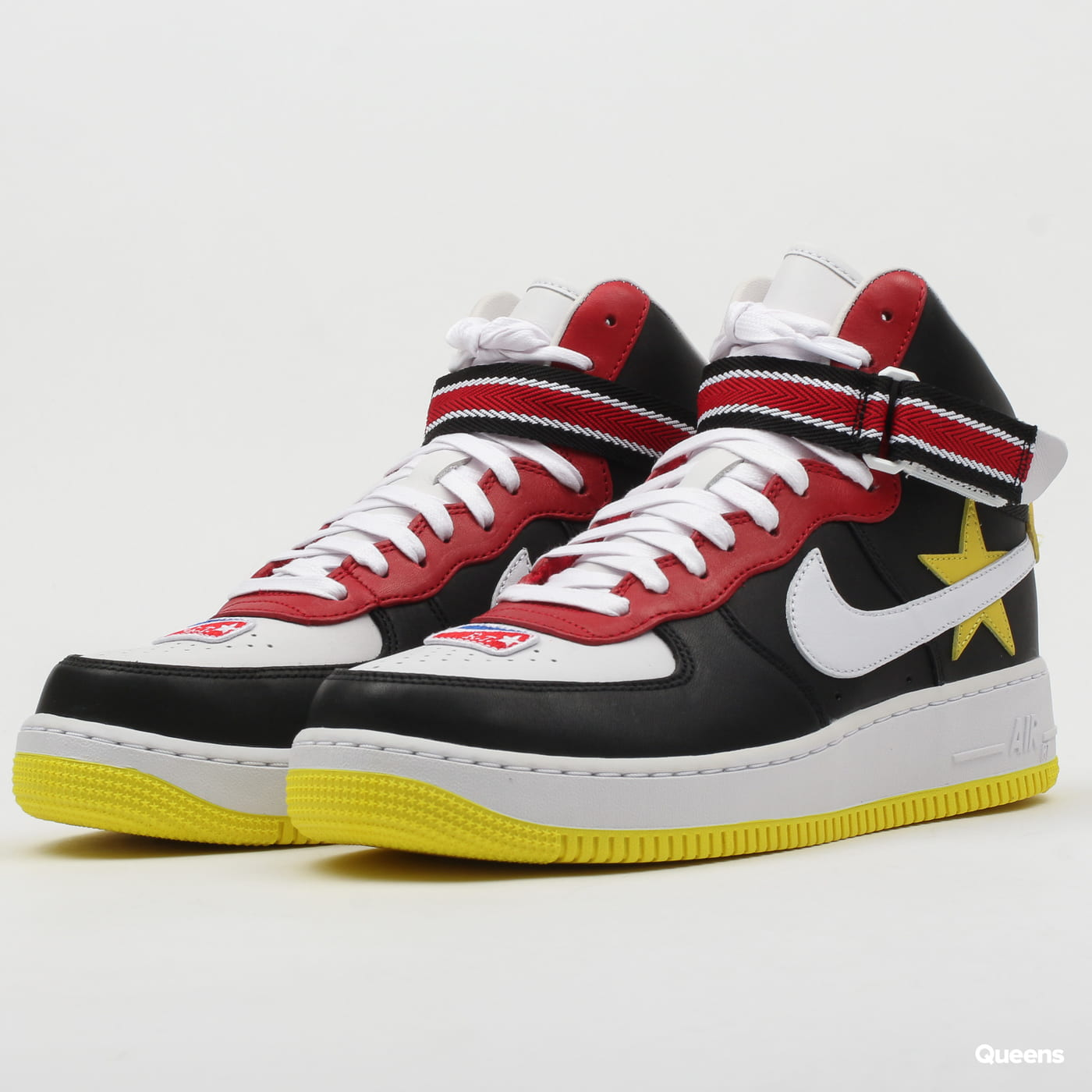 0eade5f324069 Obuv Nike Riccardo Tisci x Nike Air Force 1 High gym red / opti yellow -  black (AQ3366-600) – Queens 💚