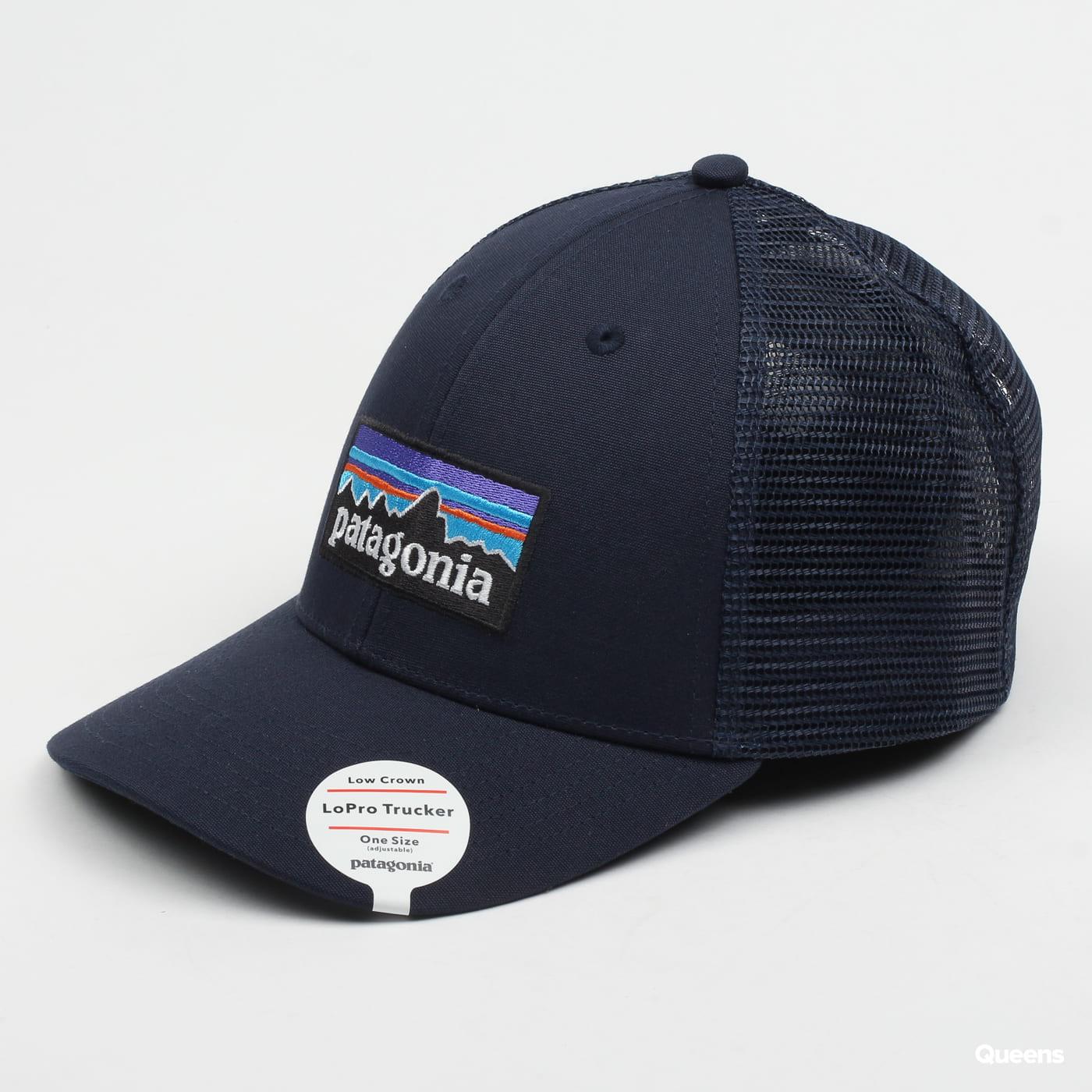Patagonia P6 LoPro Trucker Hat Marine