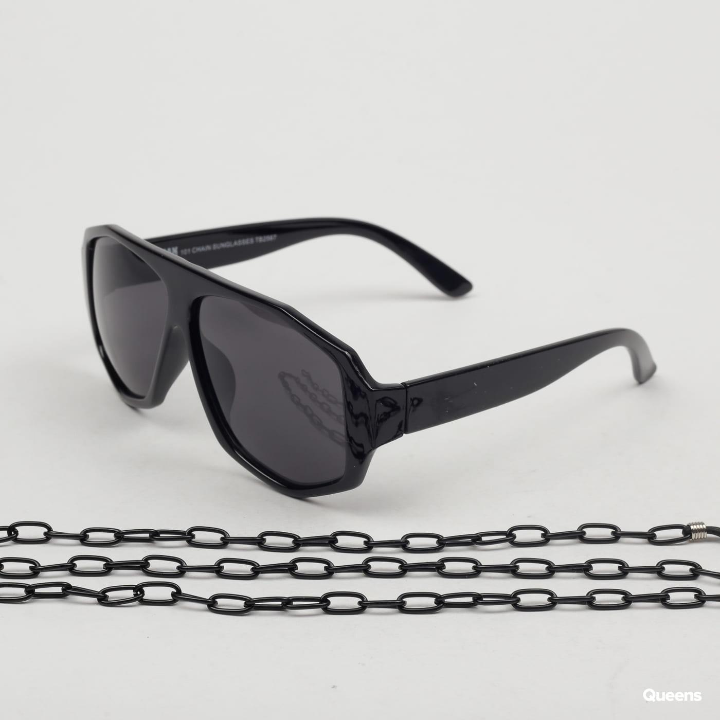 Urban Classics 101 Chain Sunglasses black
