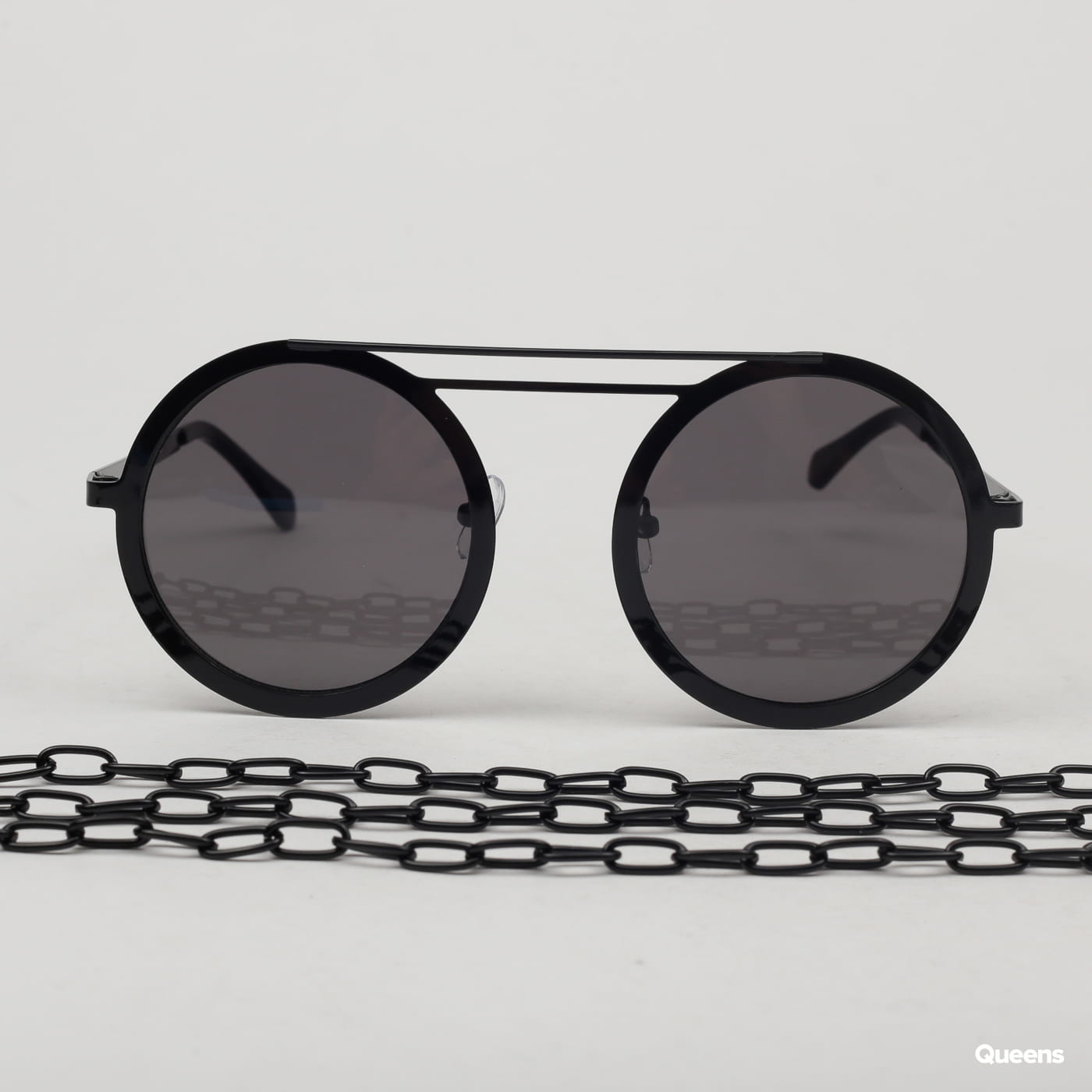 Urban Classics 104 Chain Sunglasses black satin