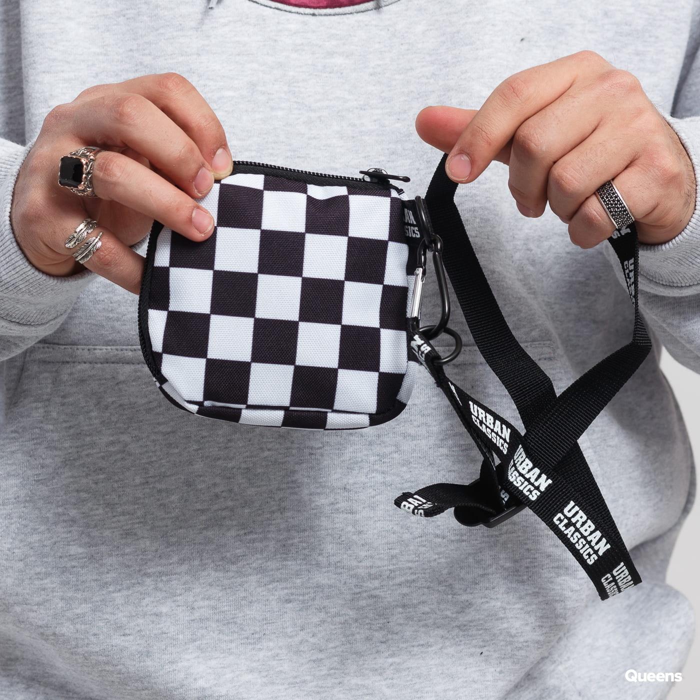 Urban Classics Mini Festival Bag biela / čierna