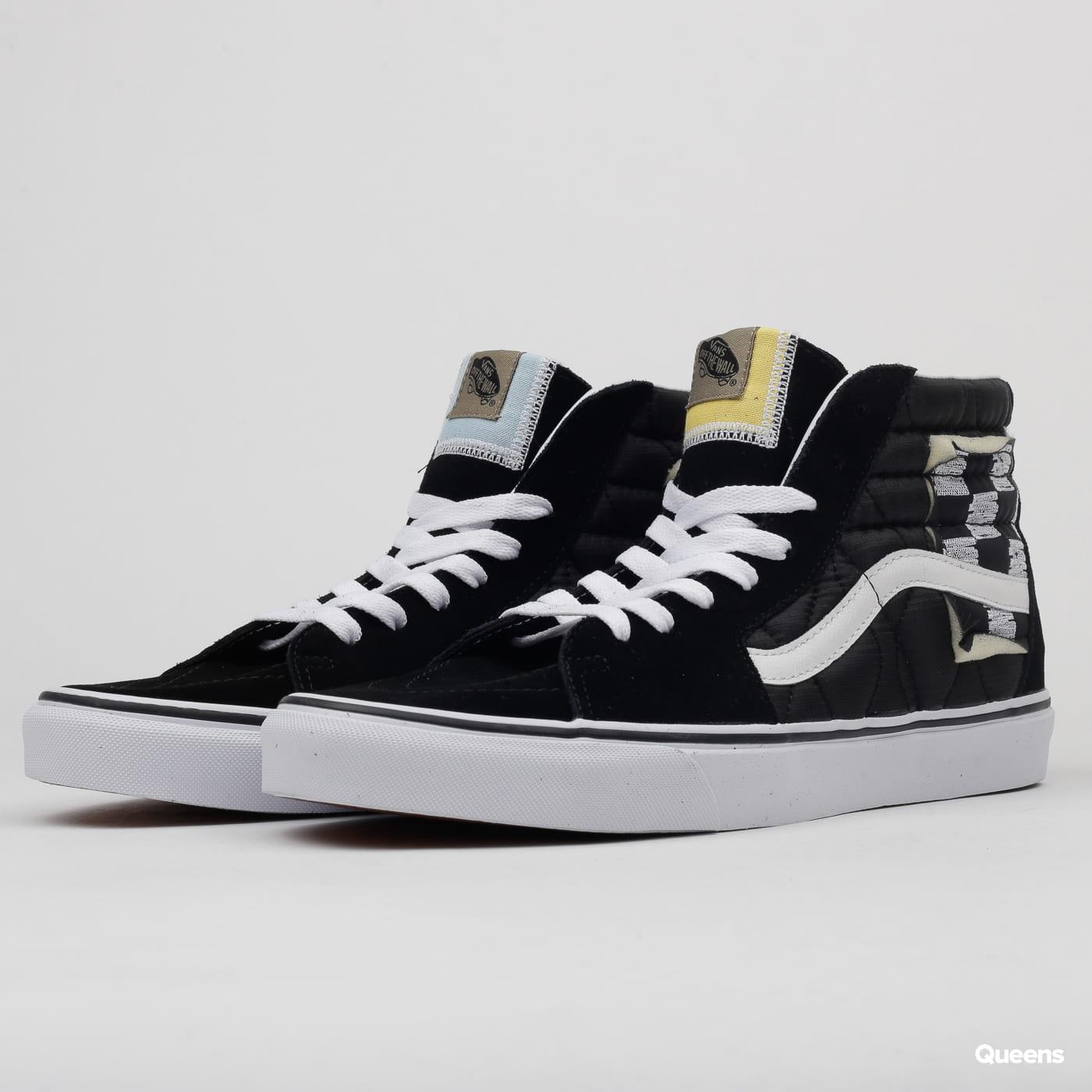 73b3970f908 Vans Sk8-Hi (mixed quilting) black / tr