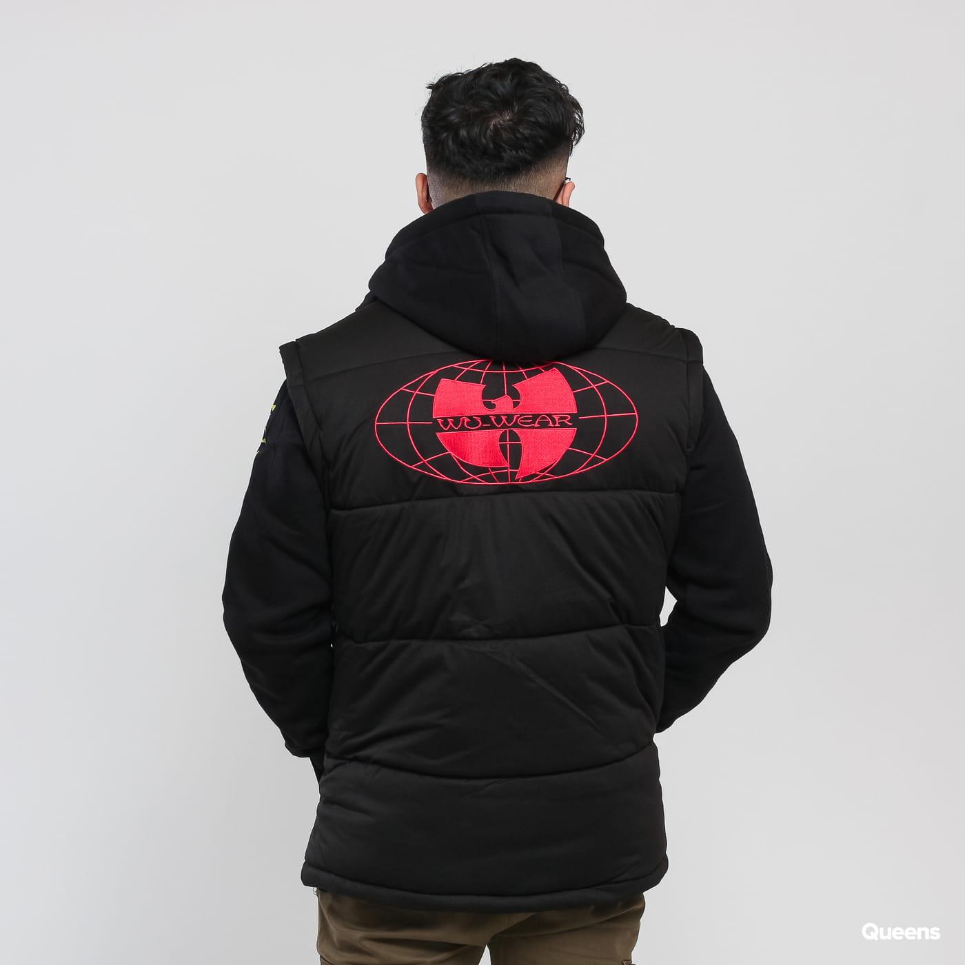 WU WEAR Puffer Vest čierna