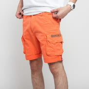 Alpha Industries Crew Short oranžové