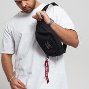 Alpha Industries Crew Waist Bag schwarz