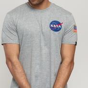 Alpha Industries Space Shuttle Tee grau melange