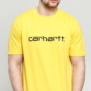 Carhartt WIP SS Script Tee yellow