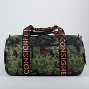 CONSIGNED Marlin Handbag camo zelená