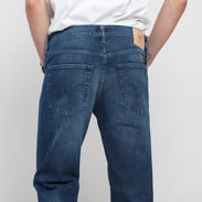 EDWIN ED-55 Regular Tapered CS Red Listed blue mission wash