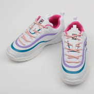 Fila Ray Low WMN white / very berry / caribbean sea