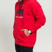 Helly Hansen HH Logo Hoodie červená / černá