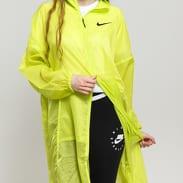Nike W NSW Jacket Woven Swoosh neon žlutozelená