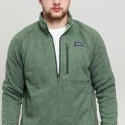 Patagonia M's Better Sweater 1/4 Zip melange zelená