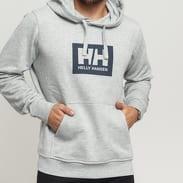 Helly Hansen Tokyo Hoodie melange šedá