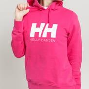 Helly Hansen W HH Logo Hoodie růžová
