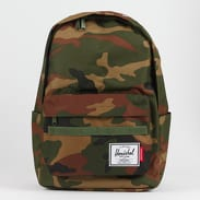 The Herschel Supply CO. Independent Classic Backpack camo zelený