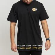 New Era NBA Team Wordmark Tee LA Lakers černé