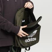 adidas Originals Backpack Classic Trefoil tmavě olivový