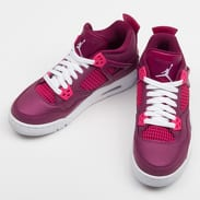 Jordan Air Jordan 4 Retro (GS) true berry / rush pink - white