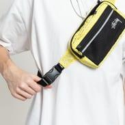 Stüssy Diamond Ripstop Waist Bag žlutá / černá