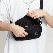 Stüssy Diamond Ripstop Shoulder Bag černá