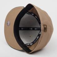 New Era 5950 MLB Camo Essential NY béžová / camo zelená