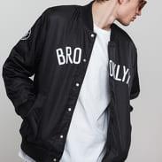 New Era NBA Team Wordmark Jacket Brooklyn Nets černá