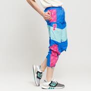 Pink Dolphin Mr. Positive Windbreaker Pant modré / světle modré / tmavě růžové