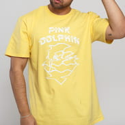 Pink Dolphin Waves Ripple Tee žluté