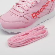 Reebok Classic Leather charming pink / red / white