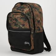 Stüssy Digi Camo Backpack camo zelený / černý