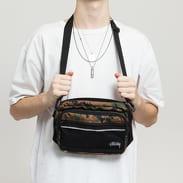 Stüssy Digi Camo Shoulder Bag camo zelená / černá