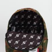 The Herschel Supply CO. Independent Classic Backpack camo zelený