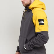 The North Face M Fine Box Hoody tmavě šedá / žlutá