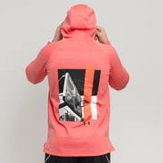 Under Armour Baseline Fleece Graphic Hood růžová