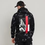 Under Armour Baseline Fleece Graphic Hood černá / šedá