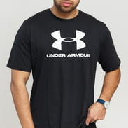 Under Armour Sportstyle Logo SS Tee černé