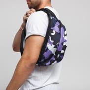 Urban Classics Camo Shoulder Bag camo fialová / bílá / černá