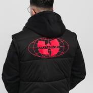 WU WEAR Puffer Vest černá