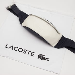 LACOSTE Embossed Lettering Bicolour Fanny Pack