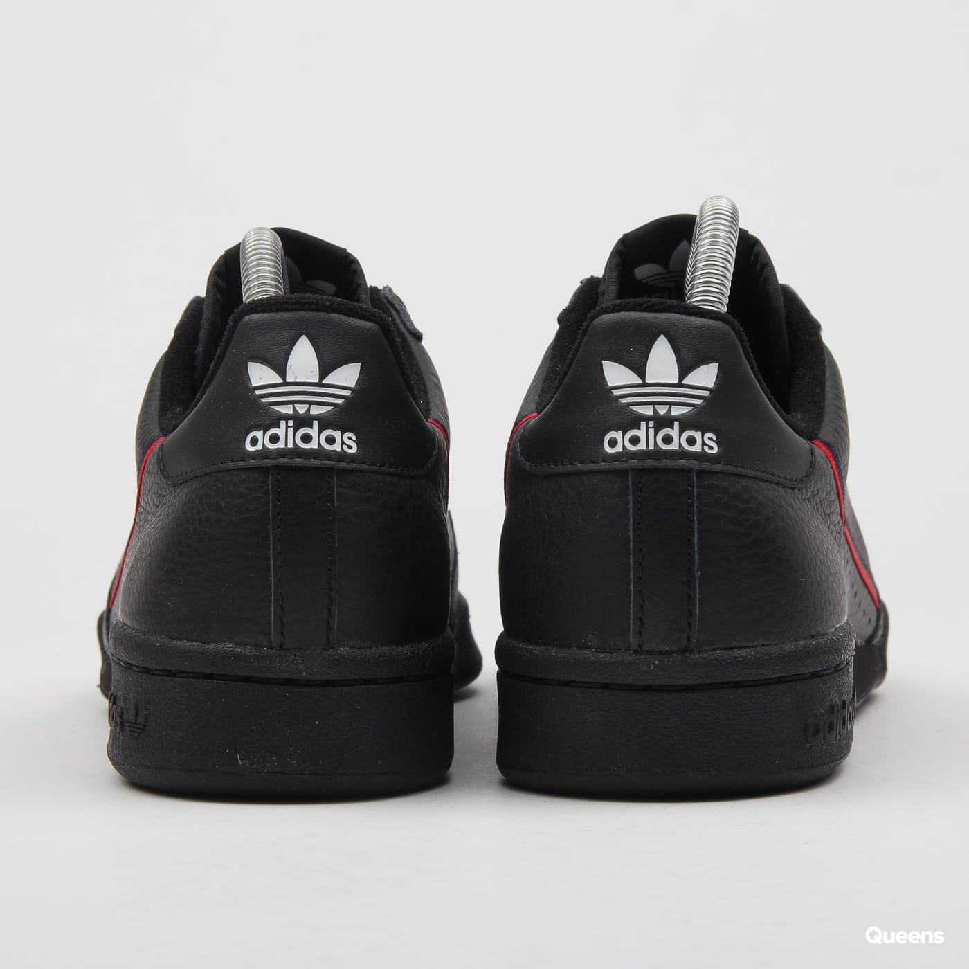 adidas Originals Continental 80 cblack / scarle / conavy