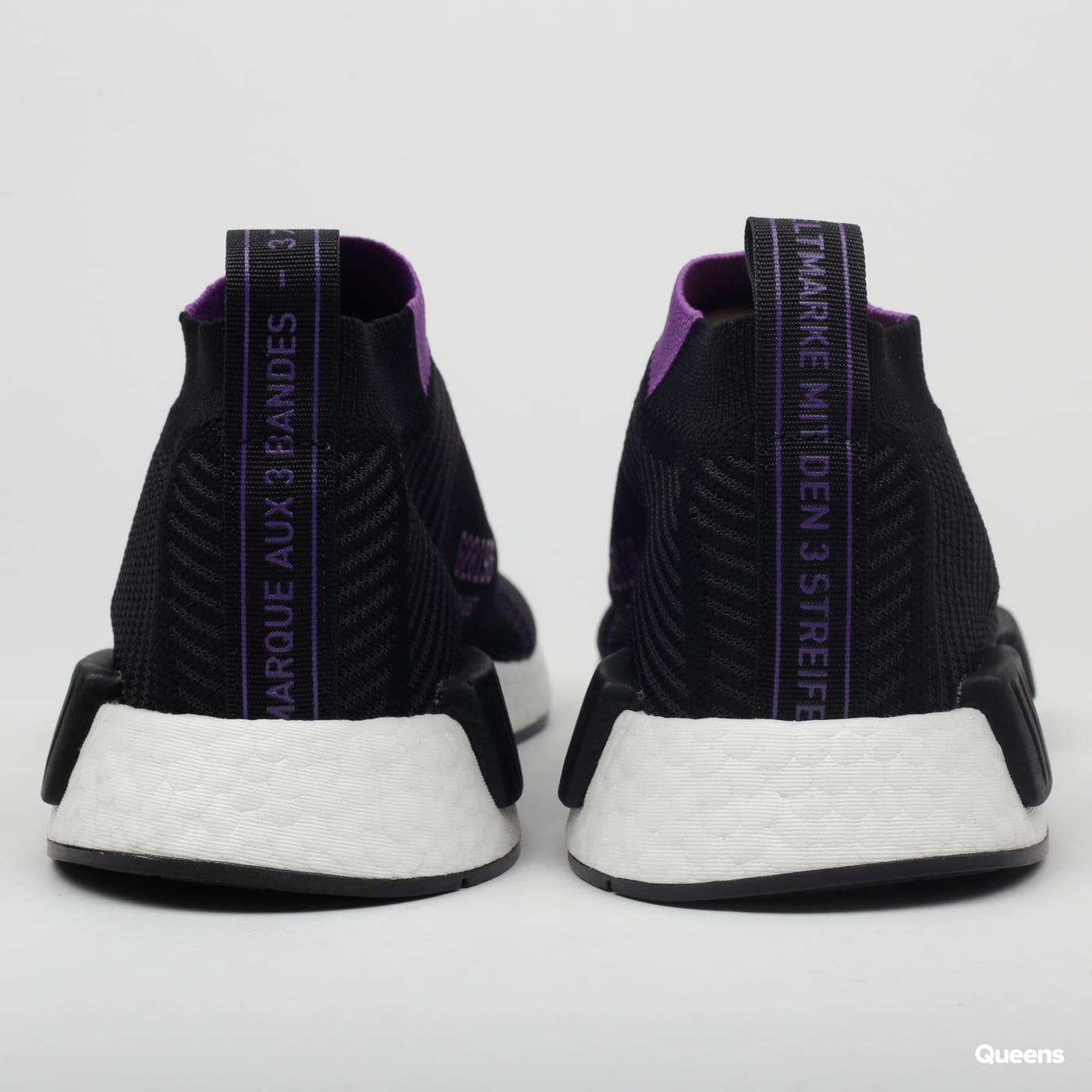 adidas Originals NMD_CS1 PK W cblack / carbon / active purple