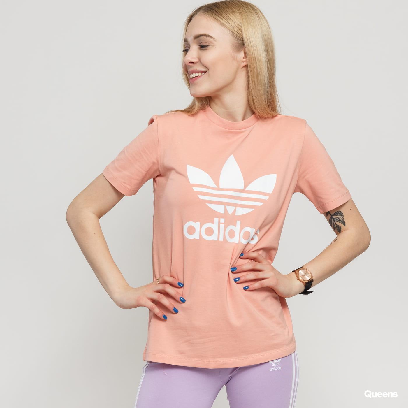 e4d11d4aa003 Dámské tričko adidas Originals Trefoil Tee (DV2587) – Queens 💚
